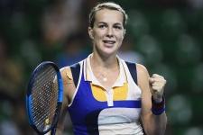 Дзаламидзе несмогла выйти вчетвертьфинал турнира вСтрасбурге впарном разряде