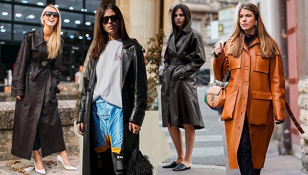 Почему кожаные пальто освежат любой гардероб