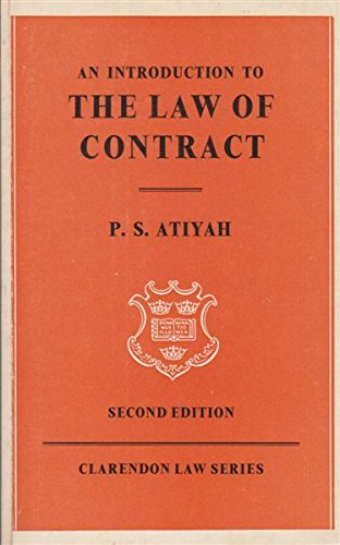 Atiyah essays on contract