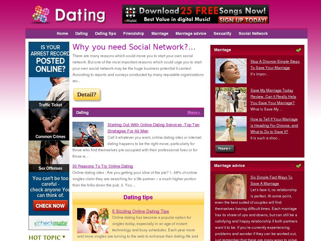 Best topics for online dating