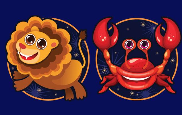 Гороскоп совместимости мужчи  лев и рак женщи  совместимость в любви
