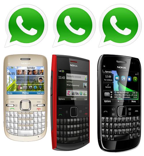 Whatsapp for Nokia e63 - Whatsapp Download