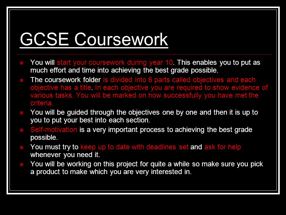 BBC - GCSE Bitesize: Making a plan for your controlled