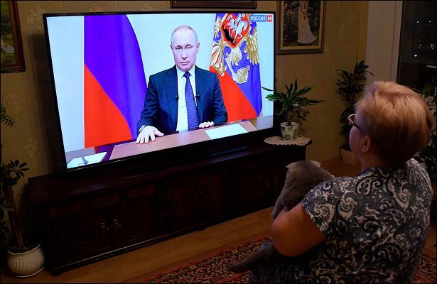Россияне посовету Путина перестали бояться обвала рубля