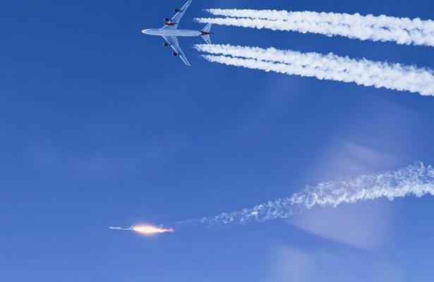 Нанидерландский город Мерссен упали обломки двигателя Boeing 747