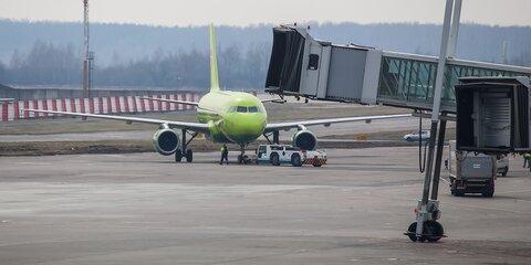 Около 30рейсов задержали иотменили встоличных аэропортах