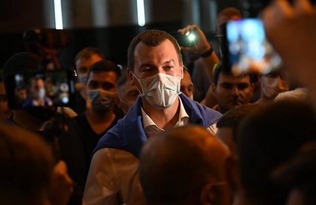 Дегтярев предупредил ориске социального взрыва вХабаровском крае