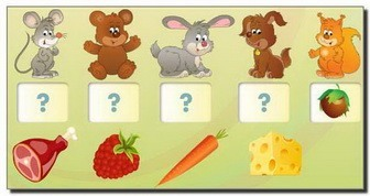 дети 1-2года игры и карточки для развития логики