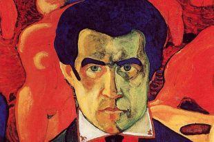 Впетербургской парадной утроили выставку картин Пикассо иМалевича