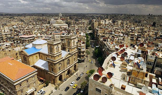 Жилые кварталы Алеппо обстреляли изминометов