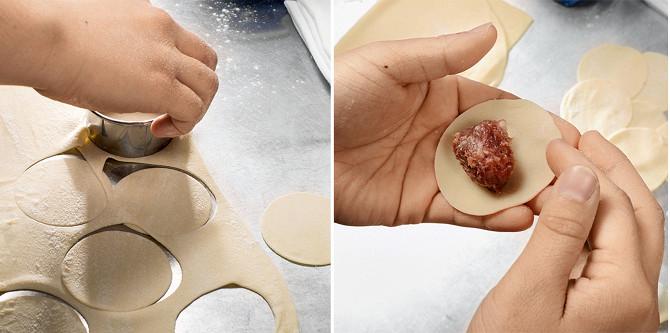 Пельмени: как делать тесто и начинку, как лепить, варить и есть ...