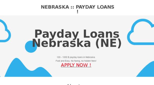 Payday loans bellevue nebraska