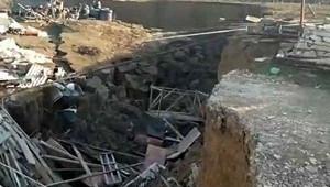 Оползень обрушил несколько зданий вДагестане