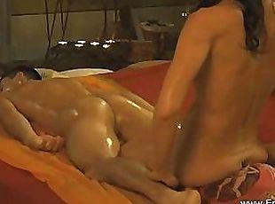 Tits pay public brunette big