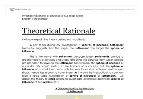 How to write a theoretical dissertation