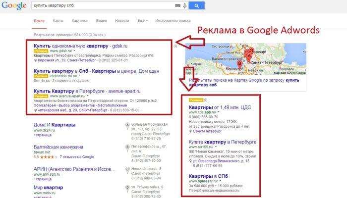 Контекстная реклама гугл адвордс google adwords отзывы