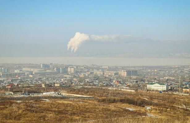 Чита попала всписок городов снаибольшим уровнем загрязнения атмосферного воздуха