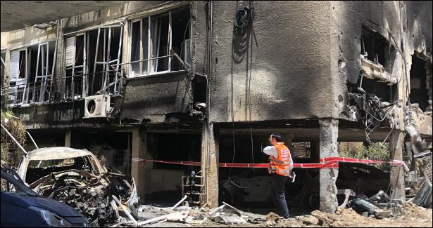 Почти 350человек пострадали заночь вИзраиле иПалестине