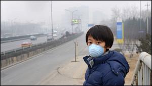 Загрязнение воздуха вПекине вразы превысило норму ВОЗ