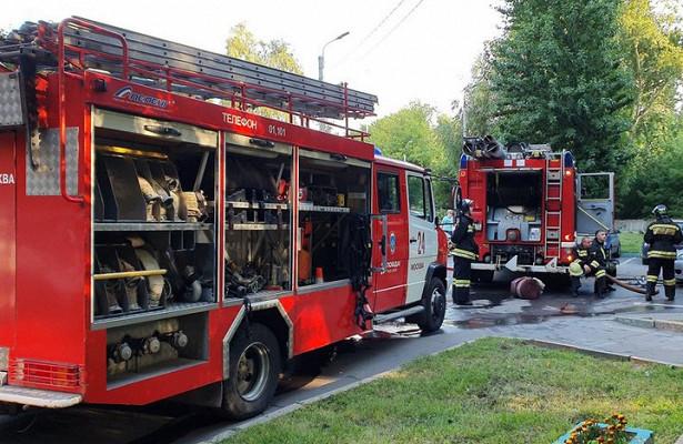 Один человек пострадал припожаре назаводе сантехники вКоврове