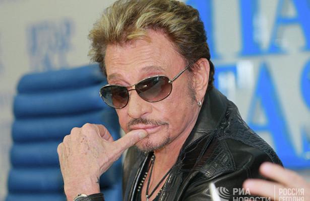Джонни Холлидей— отзвезды йе-йедокумира всей нации