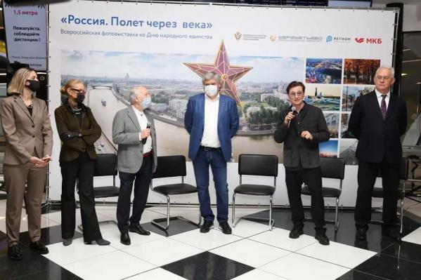 ВШереметьево открылась всероссийская фотовыставка «Россия. Полет через века»