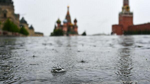 ВМоскве выпало больше 15% месячной нормы осадков