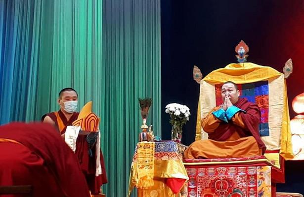 Прошла интронизация нового лидера буддистов Тувы