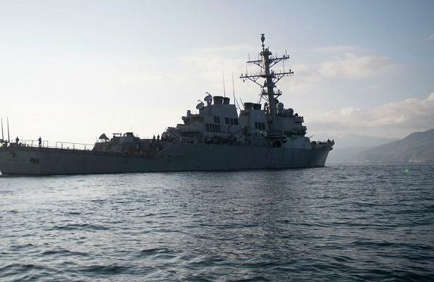 ВЧерное море вошел американский эсминец