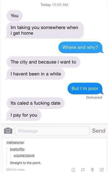 Online dating first text message