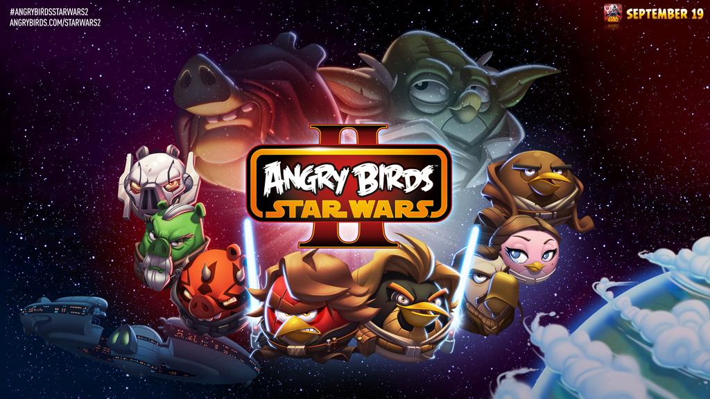 Angry Birds Star Wars II 1922 на Android скачать