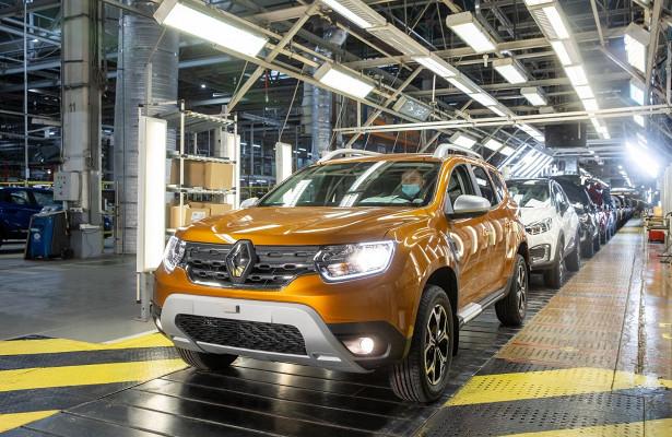 ВРоссии стартовало производство нового Renault Duster