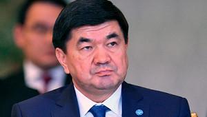 ВКиргизии задержали бывшего премьер-министра Абылгазиева