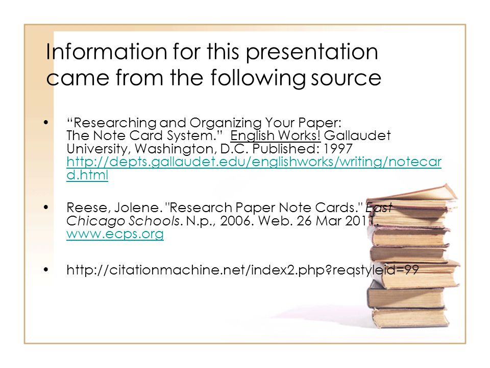 Examples of notecards for research papers - milavillacom