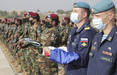 ВПабби состоялась церемония закрытия российско-пакистанских военных учений