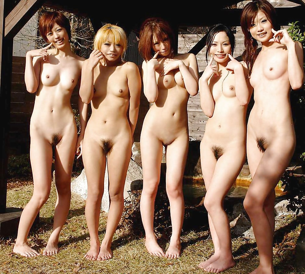 Group Images Of Naked Asian Women