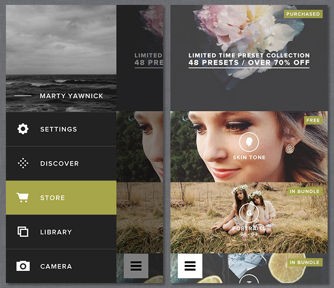 VSCO Film Pack for Photoshop, Lightroom Aperture