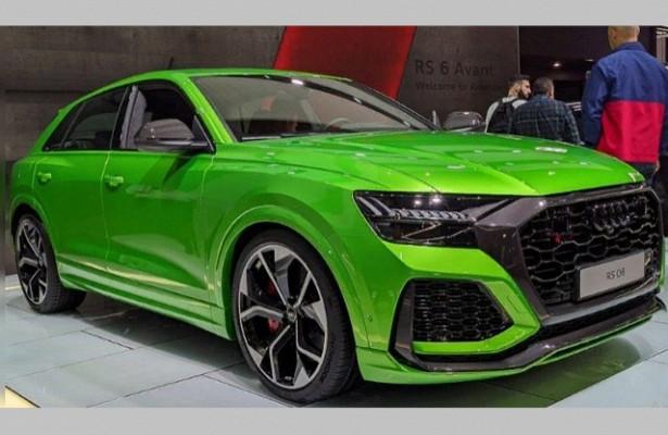 Audi объявила ценник накроссовер RSQ8дляРоссии