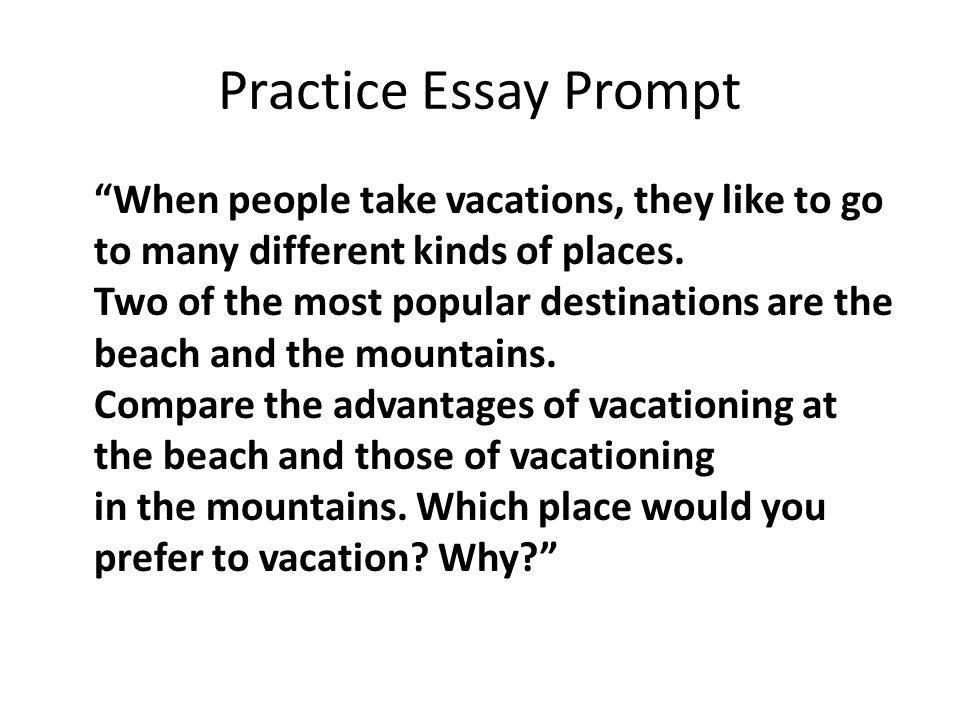 Write my descriptive essay beach vacation
