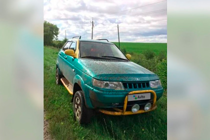 20-летнюю Lada выставили напродажу замиллион рублей