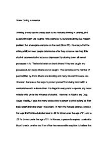 Drunk driving essay titles - Jody Shield