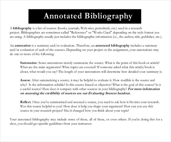 How to Write Annotated Bibliography - EssayHubcom