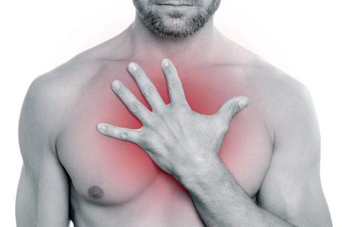Почему появляется боль в грудной клетке при вдохе?