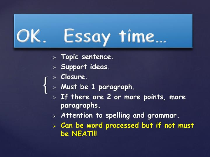 Writing the Perfect Timed Essay - College Prep Genius