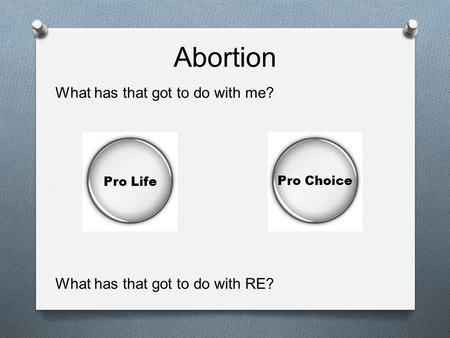 Persuasive Essay: Pro-Choice Abortion - b3ccadee