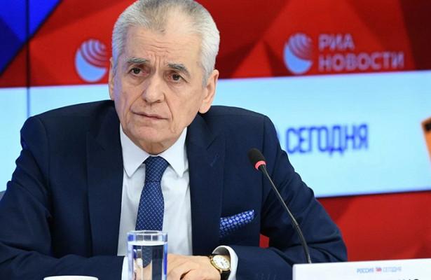 Онищенко высказался поситуации сновогодними праздниками