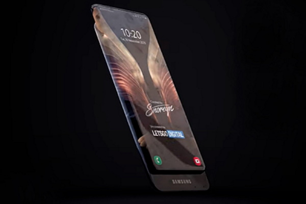 Samsung изобрела смартфон с«бесконечным» экраном