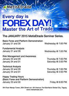 seminar forex gratis 2015