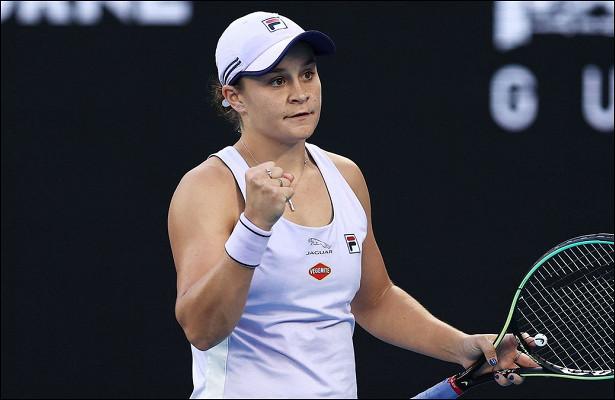 Барти разгромила соперницу настарте Australian Open