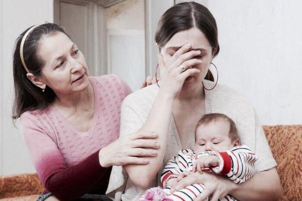 Депрессия после родов Падение в пропасть или